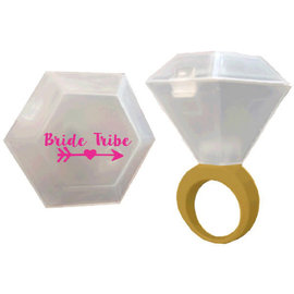 Bride Tribe Shot Glass Ring
