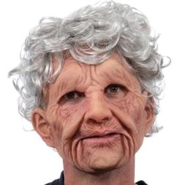 Supersoft Old Woman Moving Mouth Mask