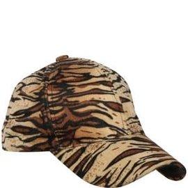 Tiger Print Baseball Hat