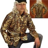 Adult Tiger Shirt- Tiger King (Joe Exotic)