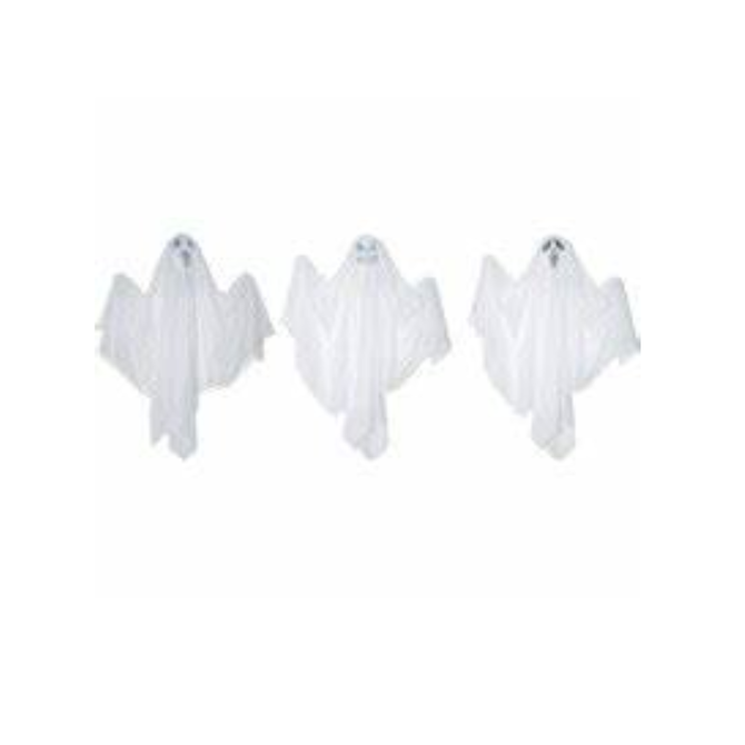 """18"""" Hanging Ghost- Spooky Assorted"""