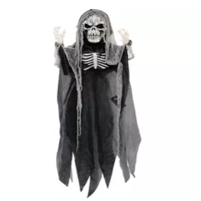 6' Hanging Light Up Reaper