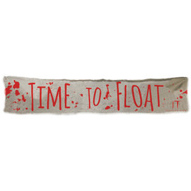 """It Chapter 2™ """"Time To Float"""" Cloth Banner"""