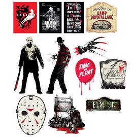 Mixed Warner Brothers Horror Cutouts
