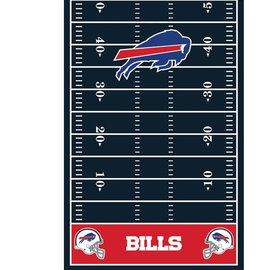 Buffalo Bills All Over Print Plastic Tablecover