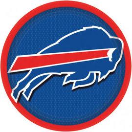 """Buffalo Bills 9"""" Round Plates-8ct"""
