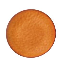 "Fall Textured Round Melamine Platter- 14"""