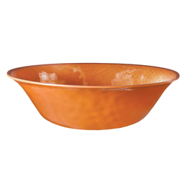 Fall Textured Melamine Serving Bowl