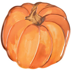 Pumpkin Shaped Melamine Platter