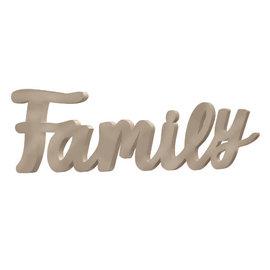 Family Script Sign
