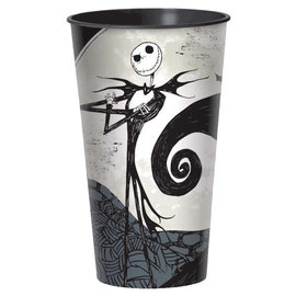 (c) Nightmare Before Christmas Plastic Cup -32oz