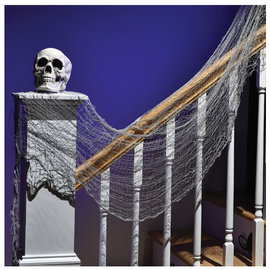 Halloween Creepy Cloth - Gray