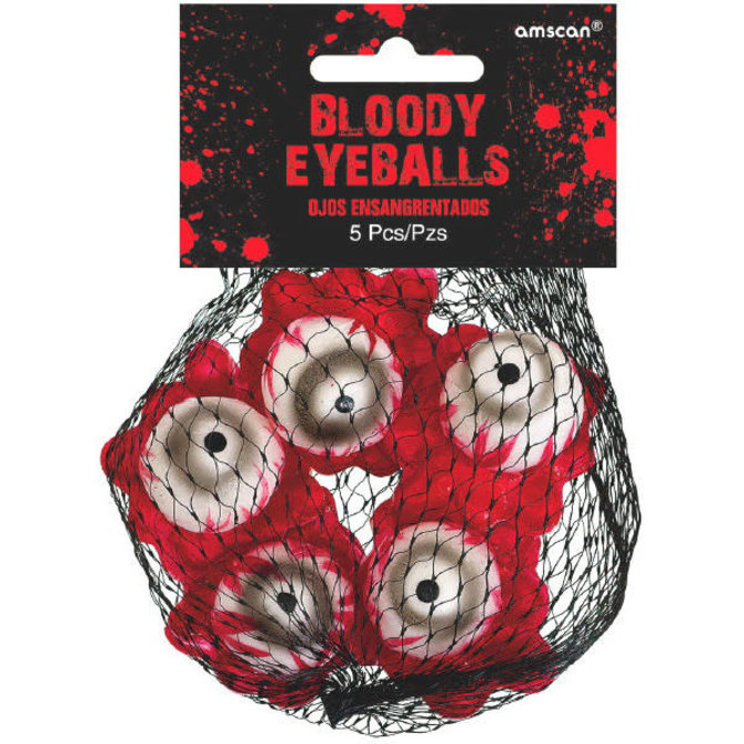 Asylum Bloody Eyeballs -5ct