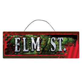 Nightmare On Elm St.™ Mdf Sign
