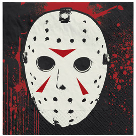 Friday The 13th™ Beverage Napkin -16ct