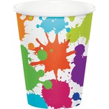 Art Party 9 oz Hot/Cold Cups, 8 ct