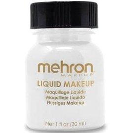 Mehron Liquid Makeup- White 1oz