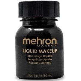 Mehron Liquid Makeup- Black 1oz