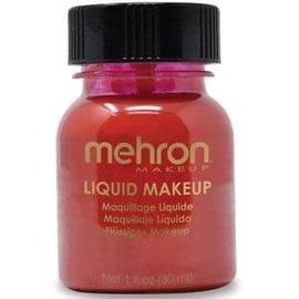 Mehron Liquid Makeup- Red 1oz