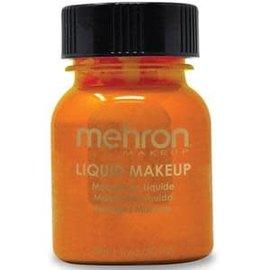 Mehron Liquid Makeup- Orange 1oz