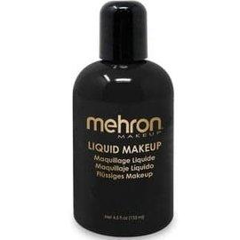 Mehron Liquid Makeup- Black 4.5oz