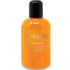 Mehron Liquid Makeup- Orange 4.5oz
