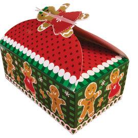 Gingerbread Man Bakery Box