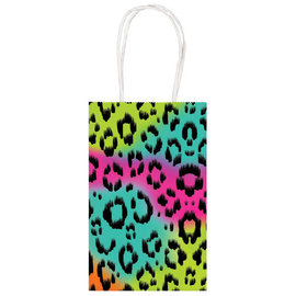 Wild Child Printed Paper Kraft Bag -8ct