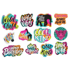 Wild Child Value Pack Cutouts -12ct