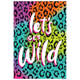 Wild Child Postcard Invitations -8ct