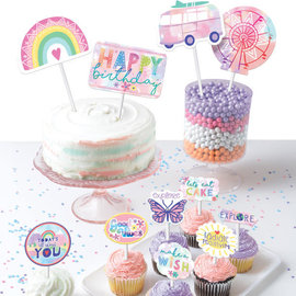 Girl-Chella Paper Topper Kit -12ct