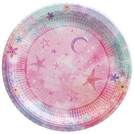 "Girl-Chella 7"" Round Plate"