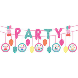 Peppa Pig Confetti Party Double Banner Multipack