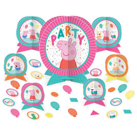 Peppa Pig Confetti Party Table Centerpiece Kit