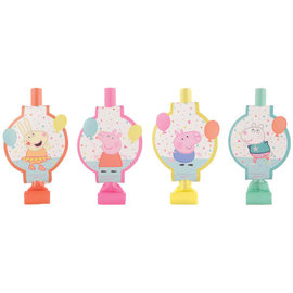Peppa Pig Confetti Party Blowouts -8ct