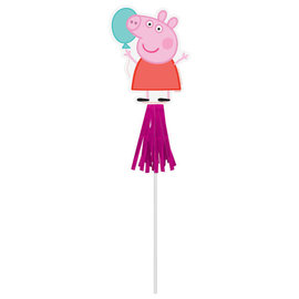 Peppa Pig Confetti Party Paper Wands -8ct
