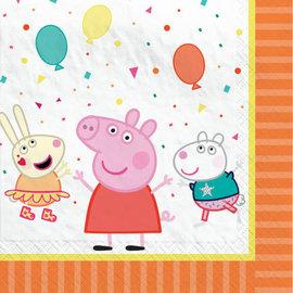Peppa Pig Confetti Party Luncheon Napkin -16ct