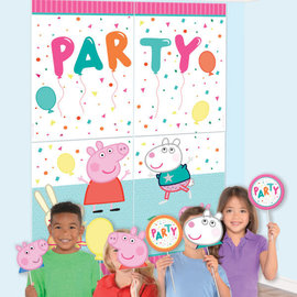 Peppa Pig Confetti Party Scene Setters® with Props -16ct