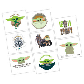 The Mandalorian - The Child Tattoos -8ct