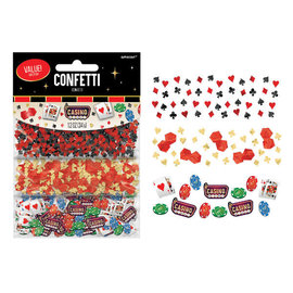 Casino Value Confetti, 1.2 oz
