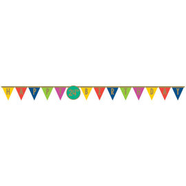 Happy Dots Jumbo Add Any Age Letter Banner