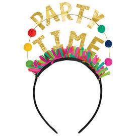 Happy Dots Glitter Word Headband