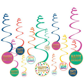 Happy Dots Spiral Decoration Value Pack