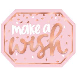 Blush Birthday Mini Message Sign