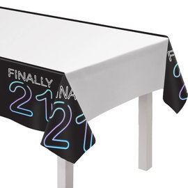 Finally 21 Plastic Tablecover
