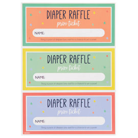 Diaper Raffle Tickets, 48ct