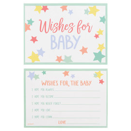 Wishes for Baby Cards, 24ct