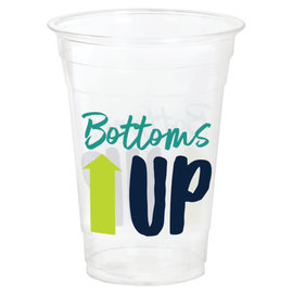 """""""Bottoms Up"""" Tumblers 16 oz., 20ct"""