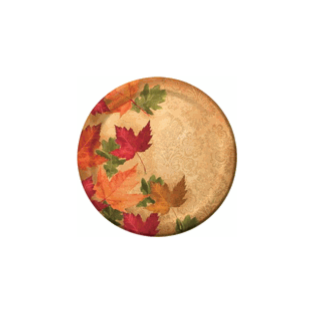 "Autumn's Elegance 9"" Dinner Plate, 45ct"