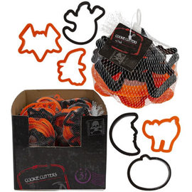 Halloween Cookie Cutter - 6ct